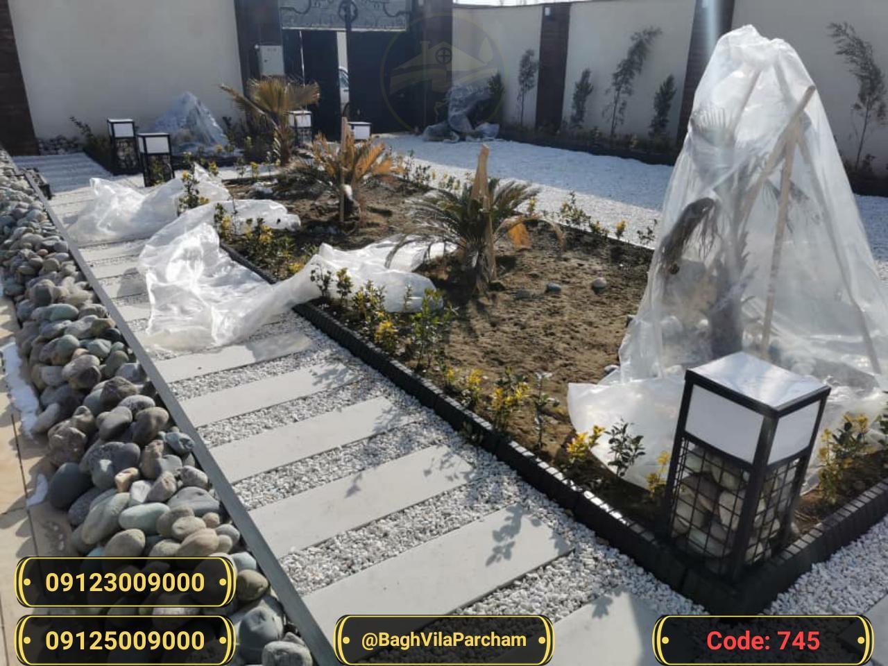 تصویر عکس باغ ویلا شماره 6 از ویلای ۴۵۰ متر ویلا مدرن و شیک Picture photo image 6 of ۴۵۰ متر ویلا مدرن و شیک