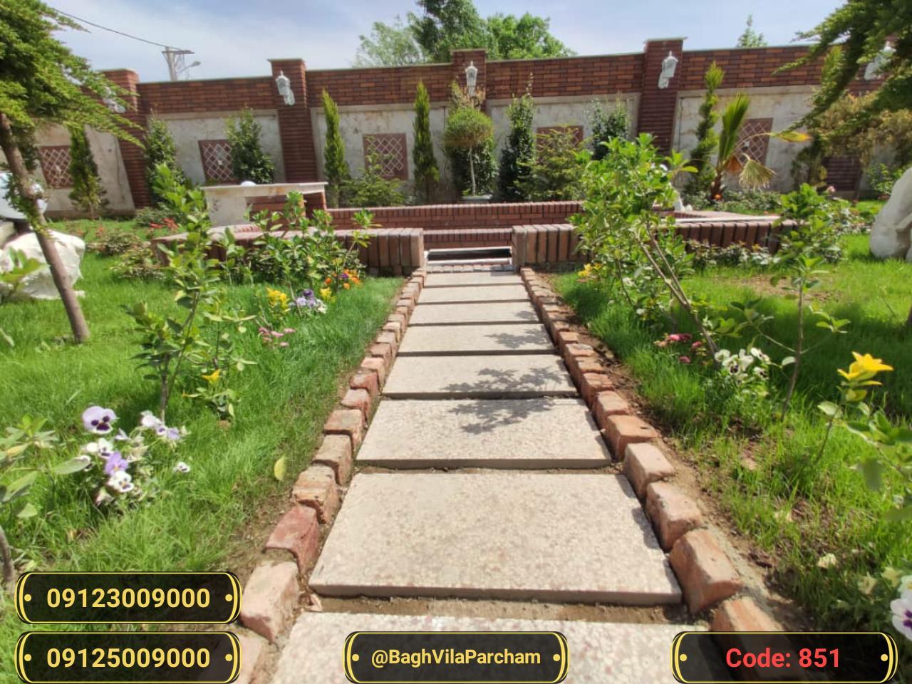تصویر عکس باغ ویلا شماره 6 از ویلای ۵۵۰ متر ویلا مدرن Picture photo image 6 of ۵۵۰ متر ویلا مدرن