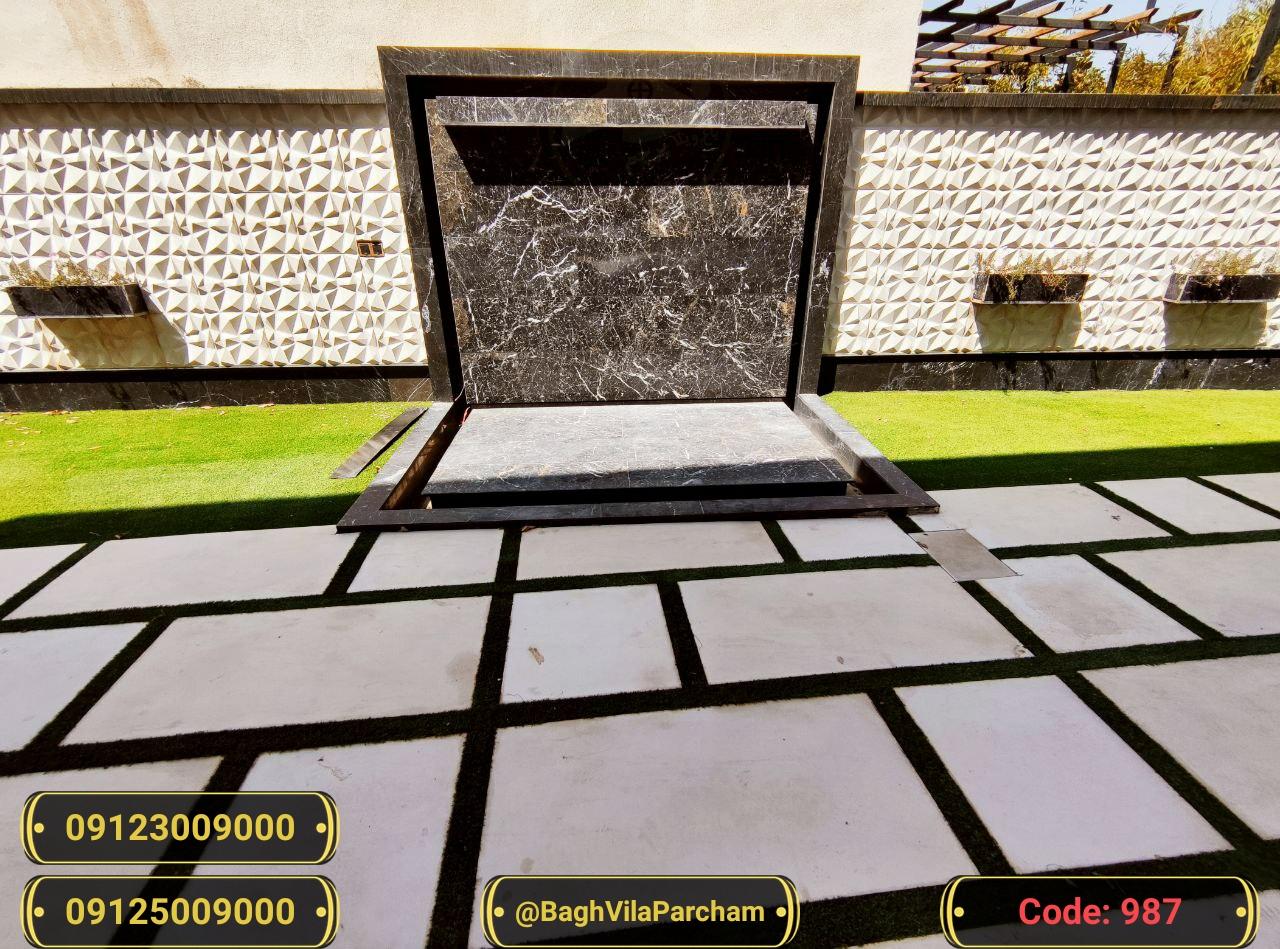 تصویر عکس باغ ویلا شماره 3 از ویلای ۱۵۰۰ متر ویلا دوبلکس مدرن و عالی Picture photo image 3 of ۱۵۰۰ متر ویلا دوبلکس مدرن و عالی